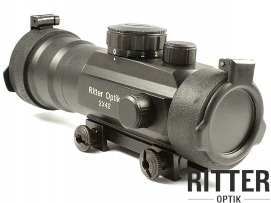 RITTER-OPTIK 2x42FC Rotpunktvisier