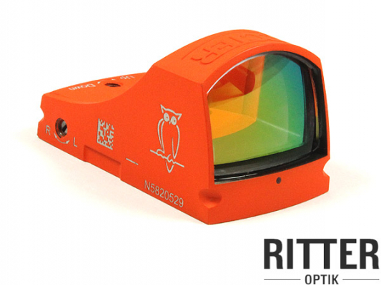 Reflexvisier DOCTERsight C 3,5 MOA Cerakote orange inkl. Weaver / Picatinnymontage