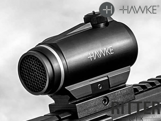 hawke-vantage-1x30-rotpunktvisier-leuchtpunkt-3moa-weaver-picatinny-montage-12103