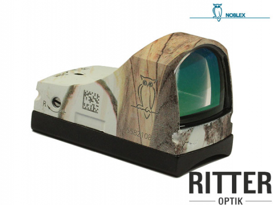 Reflexvisier NOBLEX Docter Sight C 3,5 MOA Cerakote Realtree Snow