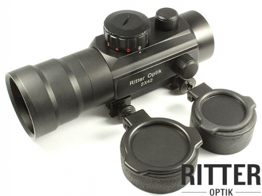 RITTER-OPTIK 2x42 Leuchtpunktvisier
