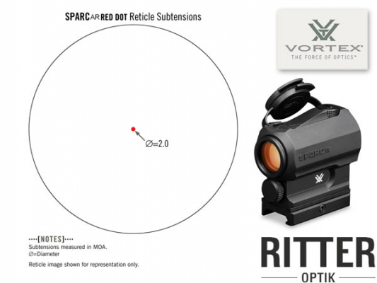 Red Dot VORTEX SPARC 2 MOA