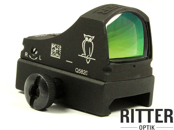 NOBLEXsight C Leuchtpunktvisier Graphit Black