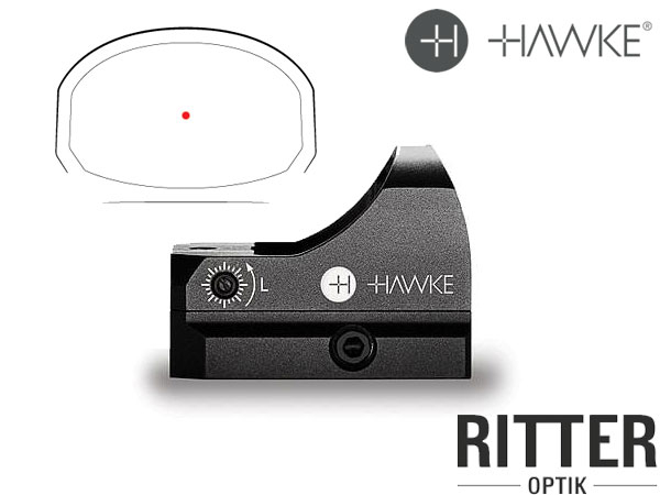 Red Dot Reflexvisier HAWKE MICRO 5 moa