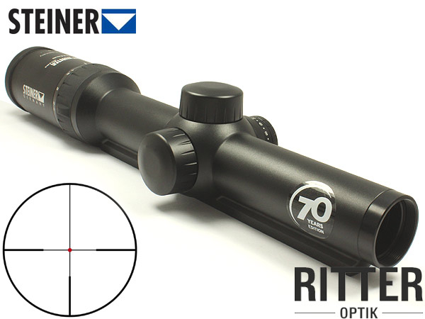 STEINER 1-5x24 Nighthunter 70 Years Edition